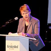 NLD/Lisse/20110323 - Opening Keukenhof 2011 door Willem - Alexander en president Duitsland Wulff en partner, Margriet Brandsma
