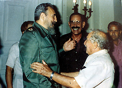 Cuba, Avana  -  1993.FIDEL CASTRO AND ALBERTO GRANADO (Credit Image: © Tonni/Fotogramma/Ropi via ZUMA Press)