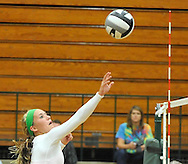 Midview at Elyria Catholic varsity volleyball on August 30, 2011.