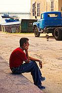 Killing time in Gibara, Holguin, Cuba.