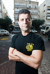 IKMF instuctor Haim Sasson, day ten on the Train & Travel in Israel, on Sunday 9th Jan 2011. Train & Travel is a unique ten day program designed for IKMF's instructors, students & guests, interested in combining Krav Maga training with a tour of the holy land..©2011 Michael Schofield. All Rights Reserved.