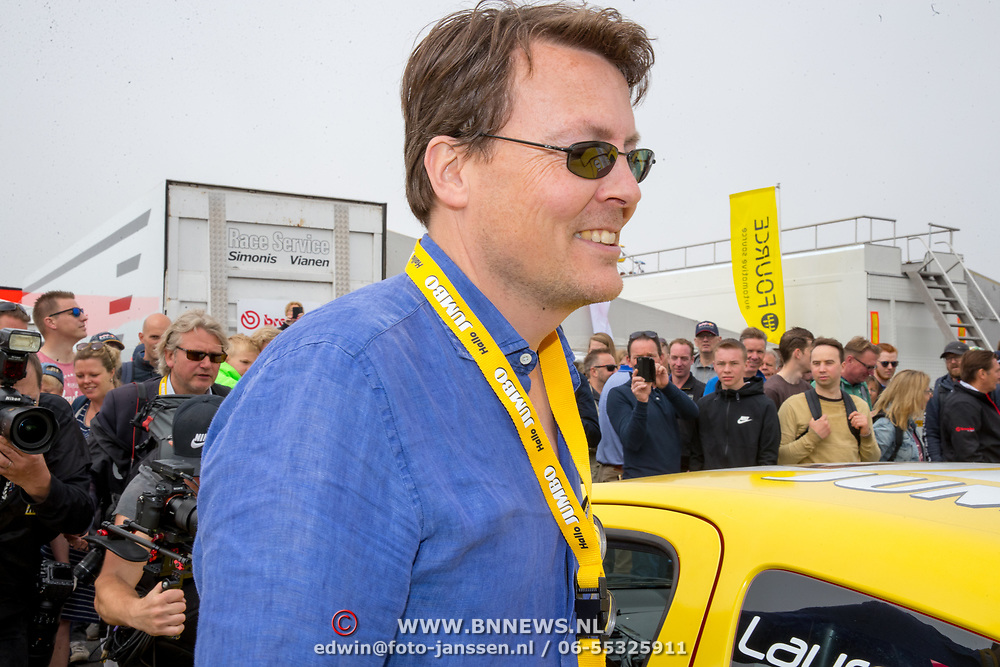 NLD/Zandvoort/20180520 - Jumbo Race dagen 2018, Prins Constantijn