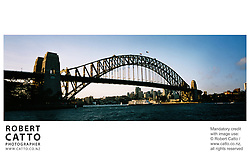 Sydney Harbour Bridge at Sydney Harbour, Sydney, New South Wales (NSW), Australia.