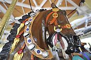 Nunley's Carousel, Garden City, New York, USA, on June 28, 2012