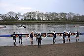 20140327 Varsity OUBC vs MBC & RNLI Challenge, Putney London UK