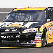 Sprint Cup Series driver Jeff Burton (31) at Daytona International Speedway on February 18, 2011 in Daytona Beach, Florida. (AP Photo/Alex Menendez)