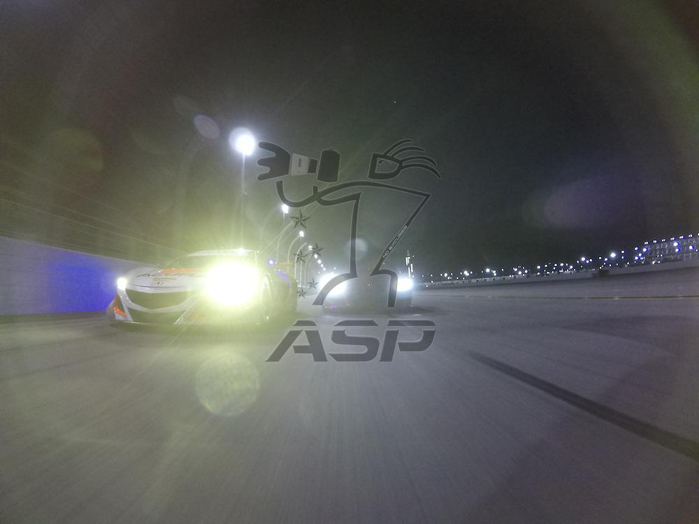 January 06, 2017 - Daytona Beach, Florida, USA:  The IMSA WeatherTech SportsCar Championship practice during the Roar Before The Rolex 24 at Daytona International Speedway in Daytona Beach, Florida.