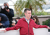 Paul Brannigan at  The Angel?s Share photocall at the 65th Cannes Film Festival France. The Angel's Share is directed by Ken Loach. Tuesday 22nd May 2012 in Cannes Film Festival, France.