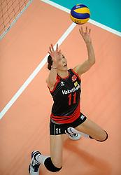 01-07-2012 VOLLEYBAL: WGP FINAL BRAZILIE - TURKIJE: NINGBO<br />Naz Aydemir Aydemir<br />©2012-FotoHoogendoorn.nl