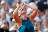 TENNIS - ROLAND GARROS 2018 - FINAL WOMEN 090618