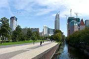 Koekamplaan, uitzicht op de nieuwe ministeries en zakencentrum, Den Haag, Zuid-Holland  -  View on the new offices and ministries, The Hague, Netherlands
