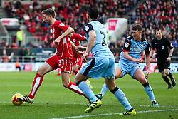 Jens Hegeler of Bristol City in action - Rogan Thomson/JMP - 04/02/2017 - FOOTBALL - Ashton Gate Stadium - Bristol, England - Bristol City v Rotherham United - Sky Bet Championship.