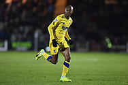 Jimmy Abdou (8) of AFC Wimbledon during the EFL Sky Bet League 1 match between Plymouth Argyle and AFC Wimbledon at Home Park, Plymouth, England on 13 February 2018. Picture by Graham Hunt.