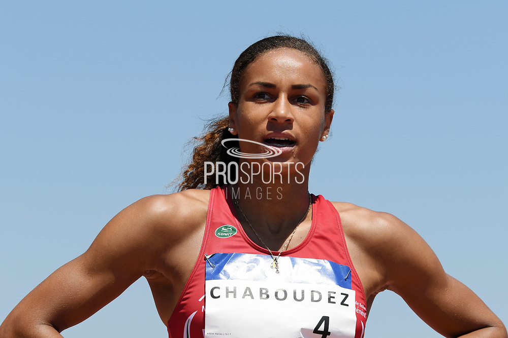 Aurelie Chaboudez competes in women 400m hurdles during the Athletics French Championships 2018, in Albi, France, on July 8th, 2018 - Photo Philippe Millereau / KMSP / ProSportsImages / DPPI