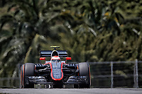 BUTTON jenson (gbr) mclaren honda mp430 action during 2015 Formula 1 FIA world championship, Malaysia Grand Prix, at Sepang from March 27th to 30th. Photo Francois Flamand / DPPI