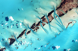 July 19, 2015 - Earth Atmosphere - Astronaut Scott Kelly posted this picture of the Bahamas taken from the International Space Station on Twitter on July 19, 2015 with the caption, Bahamas, the strokes of your watercolors are always a refreshing sight. YearInSpace. (Credit Image: ? Scott Kelly/NASA via ZUMA Wire/ZUMAPRESS.com)