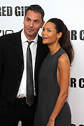 25 October 2010- New York, NY- Thandie Newton and Husband, Ol Parker at Tyler Perry's World Premiere of the Film 'For Colored Girls ' an Adaptation of Ntozake Shange's play ' For Colored Girls Who Have Considered Suicide When the Rainbow Is Enuf.' held at the Zeigfeld Theater on October 25, 2010 in New York City.