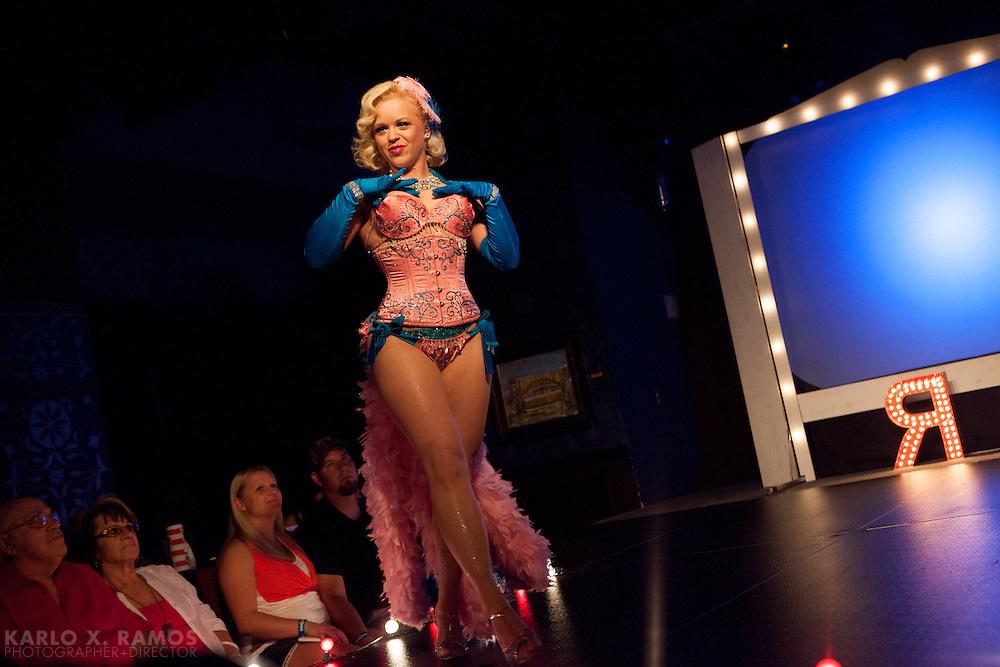 Mary Lynn Mayhem<br /> Ruby Review at House of Blues<br /> Dallas, TX<br /> June 2013