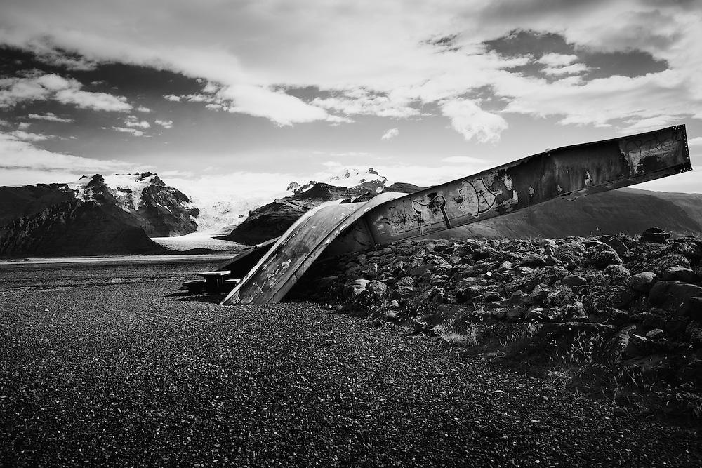 Broken bridge, Skaftafell