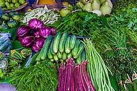 Vegetables, Ton Payom Market, Chiang Mai, Northern Thailand