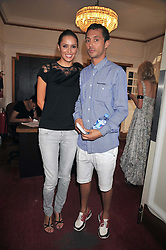 DAN MACMILLAN and SASHA VOLKOVA at a special screening of Time Bandits by Terry Gilliam hosted by Faber-Castell and GQ magazine held at The Electric Cinema, 191 Portobello Road, London W11 on 29th June 2009.