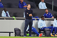 Chelsea Head Coach Frank Lampard during the EFL Cup Fourth Round match between Tottenham Hotspur and Chelsea at Tottenham Hotspur Stadium, London, United Kingdom on 29 September 2020.