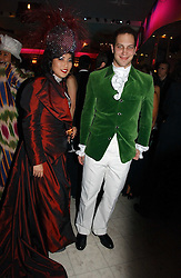 PATTI WONG and LORD FREDERICK WINDSOR at Andy & Patti Wong's annual Chinese New year Party, this year to celebrate the Year of The Pig, held at Madame Tussauds, Marylebone Road, London on 27th January 2007.<br /><br />NON EXCLUSIVE - WORLD RIGHTS