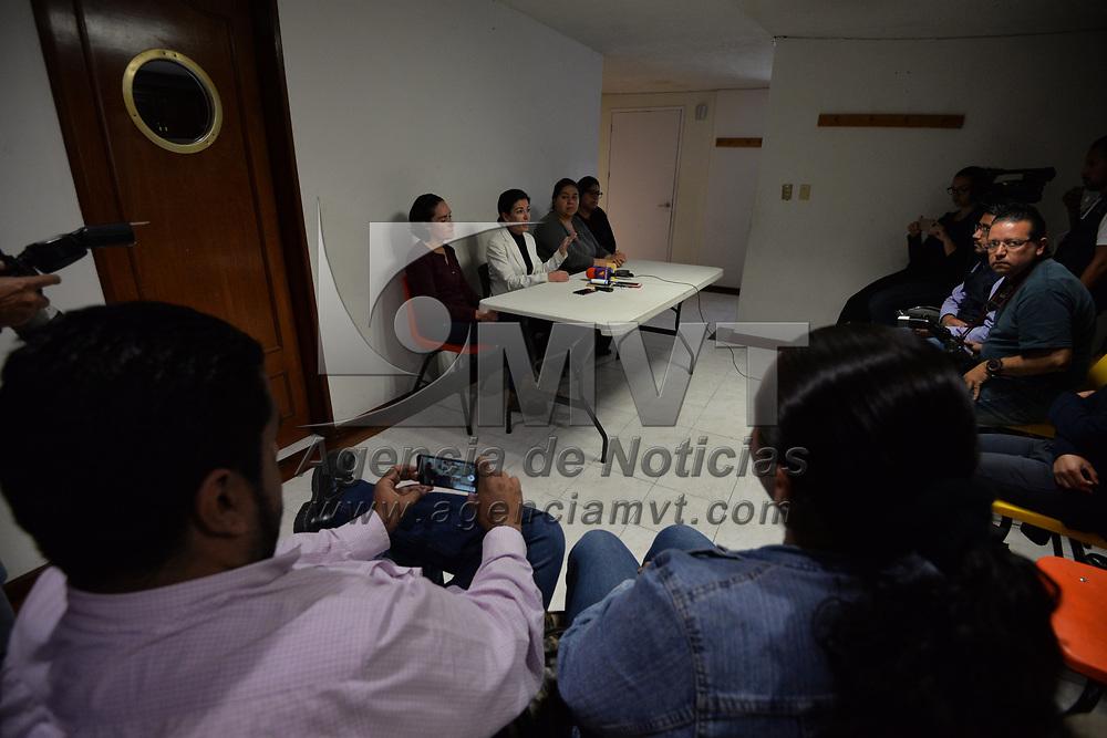 TOLUCA, México.- (Marzo 01, 2018).- Marilú loza Castela, directora y fundadora de la Asociación Civil e Instituto para la Atención del Autismo y Desórdenes del Desarrollo (IMAD) anunció que fue despedida la maestra a quien se captó en un video presuntamente agrediendo a un niño con autismo. Agencia MVT / Crisanta Espinosa.