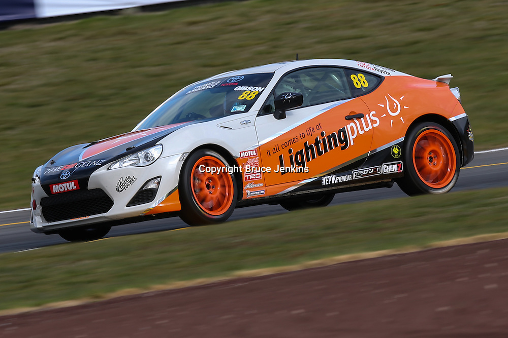 Round 1 of the Toyota Finance 86 Series at Taupo, September 2014