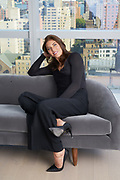 Portrait of Soccer star Hope Solo, photo by Tony Gale