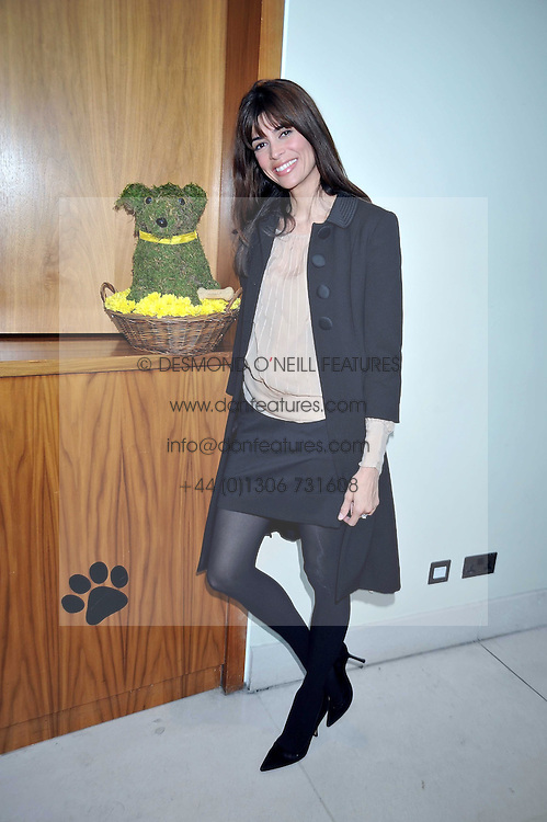 LISA BILTON at the annual Dog's Trust Honours Awards held at The Hurlingham Club, Fulham, London on 19th May 2009.
