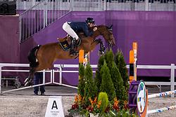 Fredricson Peder, SWE, All In, 387<br /> Olympic Games Tokyo 2021<br /> © Hippo Foto - Dirk Caremans<br /> 04/08/2021