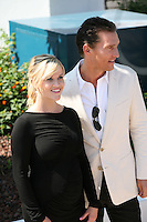 Actor Matthew McConaughey and actress Reese Witherspoon Mud photocall at the 65th Cannes Film Festival France. Saturday 26th May 2012 in Cannes Film Festival, France.
