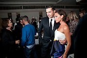 ROLAND MOURET; VICTORIA BECKHAM, Dinner hosted by editor of British Vogue, Alexandra Shulman in association with Net-A-Porter.com in honour of 25 years of London Fashion Week and Nick Knight. Caprice. London.  September 21, 2009