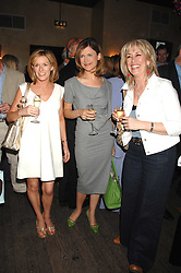 Left to right, ANDREA CATHERWOOD, KATIE DERHAM and CAROLE MALONE at a party to celebrate the publication of Piers Morgan's book 'Don't You Know Who I Am?' held at Paper, 68 Regent Street, London W1 on 18th April 2007.<br /><br />NON EXCLUSIVE - WORLD RIGHTS