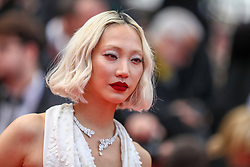 Soo Joo attends the screening of Once Upon A Time In Hollywood during the 72nd annual Cannes Film Festival on May 21, 2019 in Cannes, France. Photo by Shootpix/ABACAPRESS.COM