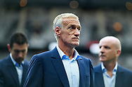 France's coach Didier Deschamps reacts before the FIFA World Cup Russia 2018, Qualifying Group A football match between France and Netherlands on August 31, 2017 at the Stade de France in Saint-Denis, north of Paris, France - Photo Benjamin Cremel / ProSportsImages / DPPI