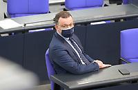 DEU, Deutschland, Germany, Berlin, 06.05.2021: Bundesgesundheitsminister Jens Spahn (CDU) in der Plenarsitzung im Deutschen Bundestag.