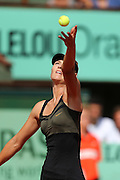 Roland Garros. Paris, France. June 2nd 2012.Russian player Maria SHARAPOVA against Shuai PENG.