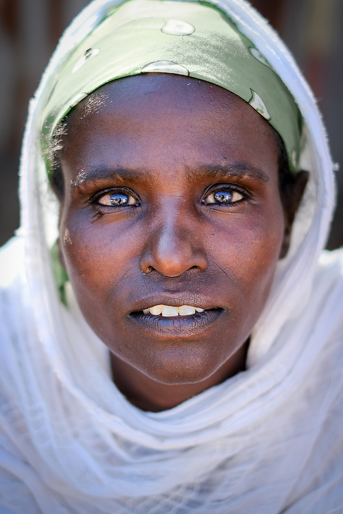 Ethiopian woman portrait. Lorenz Berna