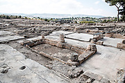Israel, Galilee, Zippori National Park A mishnaic-period city with an abundance of mosaics General view of the ruins