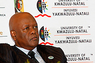 DURBAN - Jeff Radebe, South Africa's Minister in the Presidency, moments before he spoke on whether the country's constitution is an obstacle or catalyst for nation building at the annual CHief Albert Luthuli Memorial Lecture at the University of KwaZulu-Natal in Durban. Picture: Allied Picture Press/APP