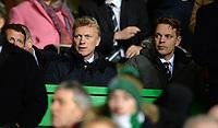 26/11/15 UEFA EUROPA LEAGUE GROUP STAGE<br /> CELTIC v AJAX<br /> CELTIC PARK - GLASGOW<br /> David Moyes attends the match