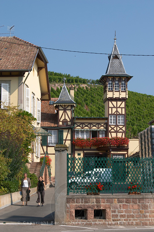 the winery with tower f e trimbach ribeauville alsace france