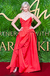 © Licensed to London News Pictures. 04/12/2017. London, UK. KARLIE KLOSS arrives for The Fashion Awards 2017 held at the Royal Albert Hall. Photo credit: Ray Tang/LNP