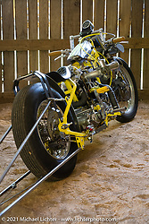 Divorster Harley-Davidson Sportster drag bike in the BC Moto Show at the Tennessee Motorcycles and Music Revival at Loretta Lynn's Ranch. Hurricane Mills, TN, USA. Friday, May 21, 2021. Photography ©2021 Michael Lichter.