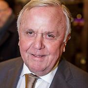 NLD/Rotterdam/20190221 - inloop verjaardagsfeestj Willem van Hanegem, Harry Mens