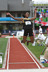 Olympic Trials Eugene 2012: women's long jump, Brittany Reese, champion, Olympian, women's Long Jump