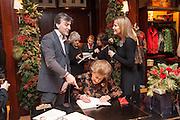 LADY PAMELA HICKS; , Book launch for ' Daughter of  PHILIP KNATCHBULL; LADY PAMELA HICKS; INDIA HICKS, Empire - Life as a Mountbatten' by Lady Pamela Hicks. Ralph Lauren, 1 New Bond St. London. 12 November 2012.