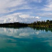 Canada, MB, Hodgson. June/25/2011. Little Limestone Lake.